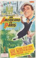 AFFICHETTE UN AMERICANO EN PARIS (chloé F) - Programmi