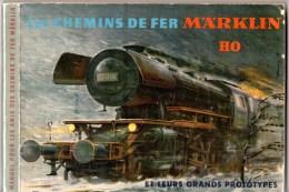 Les Chemins De Fer Märklin HO, Manuel De 167 Pages Pour La Réalisation De Réseaux : Paysages, Gares, Matériel Roulant. - Books And Magazines