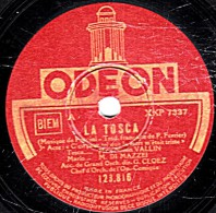 """78 Trs  30 Cm  état TB  Ninon VALLIN  DI MAZZEI  WERTHER  """"C´est Pour Toi Que La Mort M""""était Triste"""" """"Voici L´heure"""" - 78 Rpm - Schellackplatten"""