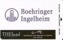 TARJETA DE THE HOTEL MANDALAY BAY CASINO   (KEY CARD-LLAVE) - Cartas De Hotels
