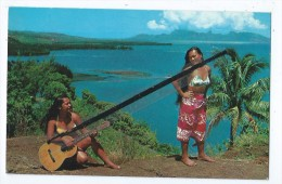 Carte - Tahiti - Tahitienne -  Polynésie Française - Polynésie Française