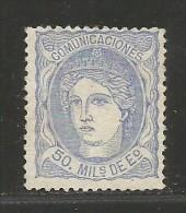 España 107 (*) - 1868-70 Gobierno Provisional