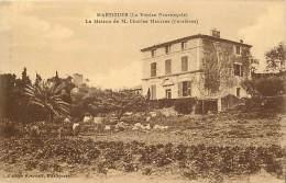 - Bouches Du Rhone -ref B38 - Martigues - La Maison De M  Charles Maurras ( Ferrieres )  - Carte Bon Etat - - Martigues
