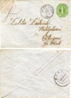 N2524 Ganzs. Württemberg St.Mühringen N. Eutingen - Lettere
