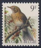 Belgie Belgique Belgium 1991 Mi 2478 YT 2426 ** Turdus Philomelos : Song Thrush / Singdrossel / Grive Musicienne - Zangvogels