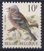Belgie Belgique Belgium 1990 M2404 YT 2350 ** Fringilla Coelebs : Common Chaffinch / Pinson Des Arbres / Buchfink - Zangvogels