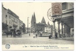 CPA - SPA - Hôtel De Spa Et Cascade Monumentale - Cachet Conférence Diplomatique   // - Spa