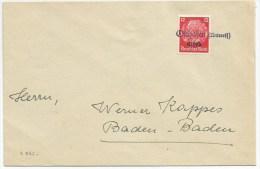 R866 - Provisoire OSTHOFEN Unterels - 1940 - Gummistempel - - Alsace-Lorraine