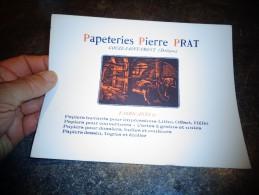 """Ancien Buvard """"Papeterie Pierre Przat Couze Saint Front Fabriquant De Papier Buvard Et Autres - Papeterie"""
