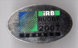 PIN´S SPORT RUGBY WORLD CUP 2007 FRANCE - Rugby