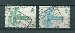 Lot Met 2 Gestempelde Zegels ENAME - 1952-....