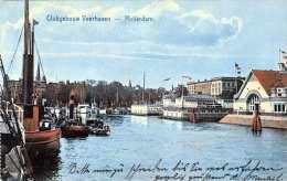 ROTTERDAM - Clubgebouw Veerhaven, 1915?, 4 Fach Frankiert - Rotterdam