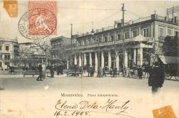 MONTEVIDEO PLAZA INDEPEDENCIA  1905 - Uruguay