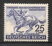 Germany 1942 - 73rd Hamburg Derby - Unused Stamps