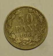 Roumanie Romania Rumänien 50 Bani 1884 - Roumanie