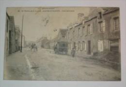 LM13 *  De Cherbourg à Jobourg Beaumont Hague Rue Principale 1904 - Beaumont
