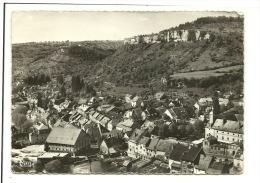 Ornans Vue Aérienne Visitation Et Roche Du Mont - France