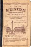 AGENDA  L'UNION Compagnie D'Assurances Sur La Vie Humaine   ANNEES 1950  0 - Books, Magazines, Comics