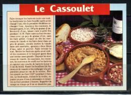 LE CASSOULET . Voir Recto - Verso    (T489) - Recettes (cuisine)