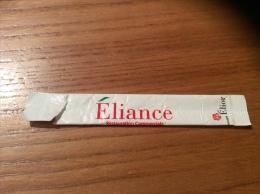 "Stick De Sucre ""Eliance/Elior"" (Béghin Say) Type 3 Vide - Sugars"