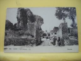 06 507 CPA - NICE - LES ARENES N° 255 - 1923 (VOIR SCANS RECTO VERSO) - Monuments, édifices