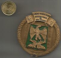 Belle Medaille  3 Demi Marathon De Reutlingen    24 Regiment  Artillerie - Francia