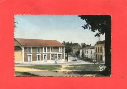 SALLES D ANGLES  1950  ROUTE DE BARBEZIEUX   CIRC OUI EDIT - Altri Comuni