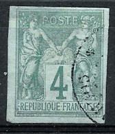 Colonies Françaises 1872 -  Sage N° YT 25 , Oblitéré - Sage