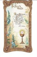 IMAGE RELIGIEUSE La Sainte Hostie/MAI 1911 / N°1058 C. Morel Ed. Eglise ST DENIS D´ARCUEIL (94) /BON ETAT - Images Religieuses