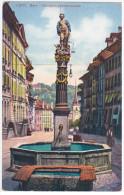 Switzerland Schweiz Suisse Svizzera, Bern Berne Gerechtigkeitsbrunnen - BE Berne