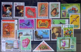 Maldives- Lot Stamps (ST180) - Maldives (1965-...)