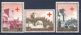 SAN MARINO 1951 -PRO CROCE ROSSA  S.71 MNH** - Neufs