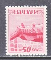 RYUKU ISLANDS 8  * - Ryukyu Islands