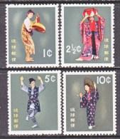 RYUKU ISLANDS  65-8  **   FOLK DANCERS - Ryukyu Islands