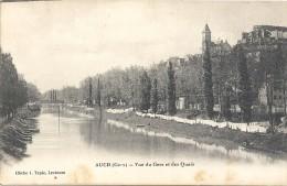 AUCH - 32 - Vue Du Gers Et Des Quais - CCC - - Auch