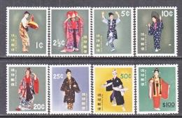 RYUKU ISLANDS    81-87   **  *  FOLK DANCERS - Ryukyu Islands
