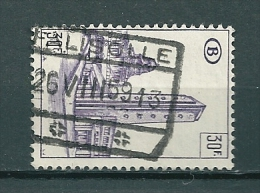 TR 349 Gestempeld FALISOLLE - Chemins De Fer