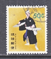 RYUKU ISLANDS   86  (o)   FOLK DANCER - Ryukyu Islands