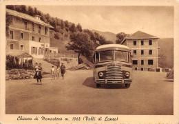 """01733 """"CHIAVES DI MONASTERO M. 1068 (VALLI DI LANZO - TORINO)"""" ANIMATA, TORPEDONE '50/60.  CART. ORIG.  NON SPEDITA - Otras Ciudades"""