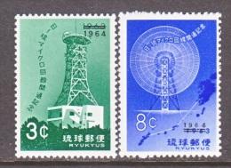 RYUKU ISLANDS  122-3  **    MICROWAVE STATION - Ryukyu Islands