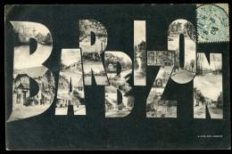 Cpa Du 77 Barbizon  Vues Miltiples      FRM 14 - Barbizon