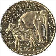 2008 AB181 - ZOO D AMIENS 1 - ELEPHANT ET ZEBRE / ARTHUS BERTRAND - 2008