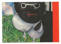 Aldona Gustas: Asyl Im Geschlecht IV, 1989. Ausstellung Von 2.4.-30.4.1990 - 2 Scans - Paintings