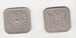 Romania - Steaua Romana Schela 100 Old Token , Before 1945 - Unclassified