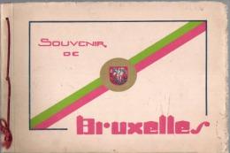 SOUVENIR DE BRUXELLES ALBUM DE 16 IMAGES - Belgium