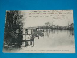 86) Chatellerault - N° 24 - Embarcadère , Rive Gauche De La Vienne  ( Le Canot à Moteur   -  Année 1904 - EDIT : E.B.P.L - Chatellerault