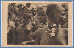 AFRIQUE - TCHAD --  Jeune Filles Moundanj à Léré - Chad