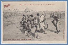 AFRIQUE - TCHAD - C. Congo Français De La Sangha --  Chez Les Bayas... - Tchad