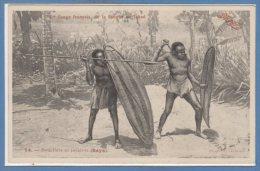AFRIQUE - TCHAD - C. Congo Français De La Sangha --  Boucliers Et Javelot ( Baya ) - Tchad