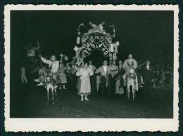1940 Desfile De MARCHAS POPULARES (Benfica), Na Avenida Liberdade Em LISBOA. Real Photo PORTUGAL - Célébrités